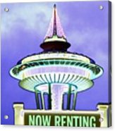 Now Renting Acrylic Print