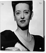 Now, Voyager, Bette Davis, 1942 Acrylic Print by Everett