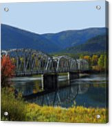 Noxon Bridge Acrylic Print