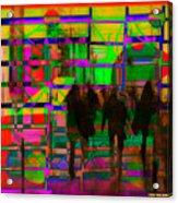 Nu City Beyond Blade Runner Acrylic Print