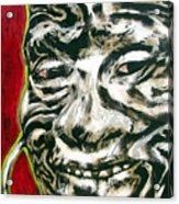 Nuba Paint Acrylic Print