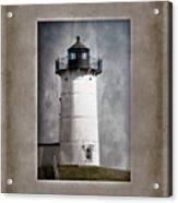 Nubble Light Maine Acrylic Print by Carol Leigh