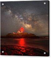Nubble Light Milky Way Rising Acrylic Print
