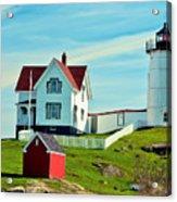 Nubble Lighthouse II Acrylic Print