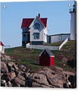 Nubble Point Lighthouse Acrylic Print