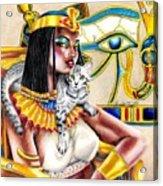 Nubian Queen Acrylic Print