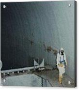 Nuclear Engineer Inside Unit 2 Acrylic Print by Everett