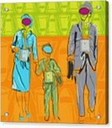 Nuclear Family Acrylic Print