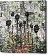 Nuclear Garden Acrylic Print