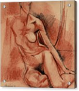 Nude 007 Acrylic Print