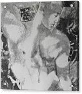 Nude 1 Acrylic Print by Carmine Santaniello