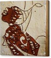 Nude 12 - Tile Acrylic Print