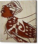 Nude 2 - Tile Acrylic Print