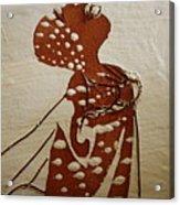 Nude 4 - Tile Acrylic Print