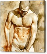 Nude 43 Acrylic Print