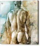 Nude 51 Acrylic Print by Chris Lopez