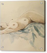 Nude 9 Acrylic Print