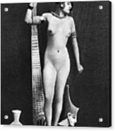 Nude As Ancient Egyptian Acrylic Print