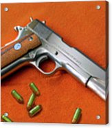 Nude Colt 45 Acrylic Print