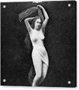 Nude Floating, 1890s Acrylic Print