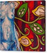 Nude Flower Acrylic Print