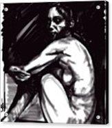 Nude Girl 1 Acrylic Print