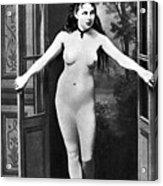 Nude In Doorway, C1865 Acrylic Print