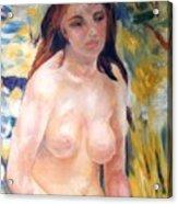 Nude In Sunlight Renoir Reproduction Acrylic Print