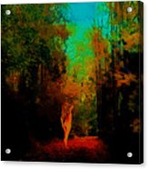 Nude In The Forest Acrylic Print