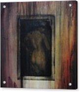 Nude In Vintage Acrylic Print