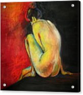 Nude- Introspection Acrylic Print
