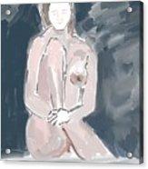 Nude Model 4 Acrylic Print