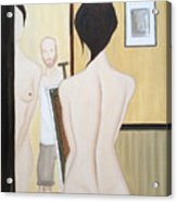 Nude Of M.b. Acrylic Print
