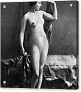 Nude Posing, C1855 Acrylic Print