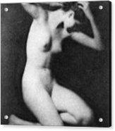 Nude Posing, C1910 Acrylic Print