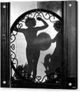 Nude Shadow, 1920s Acrylic Print