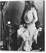 Nude Smoking, 1913 Acrylic Print