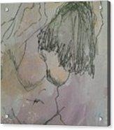 Nude Study One Acrylic Print