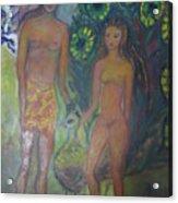 Nudes Elation Acrylic Print