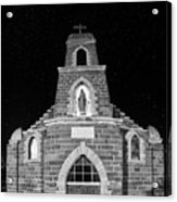 Nuestra Senora De Refugio, Illuminated By The Moon And Yard Lig Acrylic Print