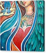 Nuestra Senora Maestosa Acrylic Print by Shiloh Sophia McCloud