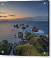 Nugget Point Acrylic Print