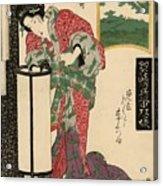 Numazu Senju Of The Sakaya 1823 Acrylic Print