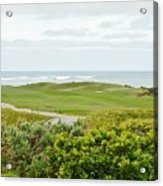 Number 1 From The Whites At Spanish Bay Acrylic Print