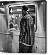 Number 4 Train Acrylic Print