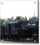 Number 6 Shay Steam Engine Acrylic Print