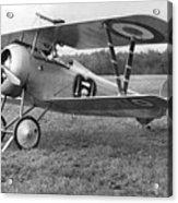 Nungesser's Nieuport 17 Acrylic Print