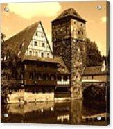 Nuremberg Acrylic Print