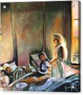 Nurses Are Heroes To Heroes Acrylic Print
