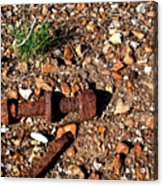 Nuts And Bolts Rusted Acrylic Print